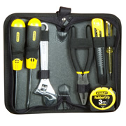 1-90-596 Stanley 7 Piece Hand Tool Set in Zipped Wallet STA190596