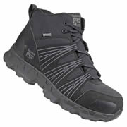 Timberland Pro 024726 Timberland Pro PowerTrain Mid-Height Safety Boots (Black)