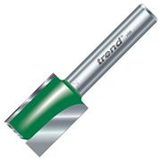 "Trend 1/4C028A 18mm Trend Straight Cutter (1/4"" Shank) 25mm Flute"