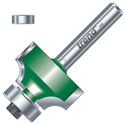 """Trend C079 12.7mm Trend Ovolo/Roundover Cutter (1/4"""" Shank)"""