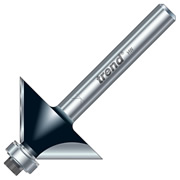 "Trend TR33X1/4TC Trend Guided Chamfer Cutter (1/4"" Shank)"