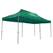 Ultex 180032 Ultex Green Folding Gazebo 3m x 6m