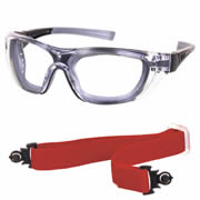 Ultex 250012 ULTEX Illusion Safety Glasses - Clear