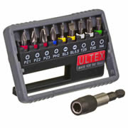 Ultex 300817 Ultex 10 Piece Mixed Screwdriver Bit Set