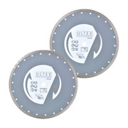 Ultex ULT30200B Ultex 115mm Trade Turbo Diamond Blade Twinpack