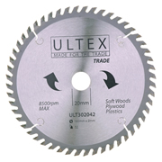 Ultex 302042 Ultex 165mm 52 Tooth TCT Trade Blade