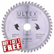 Ultex 302142 Ultex 216mm 48 Tooth TCT Trade Blade