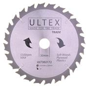 Ultex 302172 Ultex 235mm 24 Tooth TCT Trade Blade
