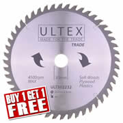 Ultex 302232 Ultex 260mm 48 Tooth TCT Trade Blade
