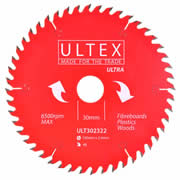Ultex 302322 Ultex 190mm 48 Tooth TCT Ultra Blade