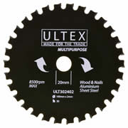 Ultex 302402 Ultex 160mm 30 Tooth TCT Multi-Purpose Blade