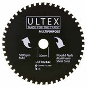 Ultex 302442 Ultex 250mm 48 Tooth TCT Multi-Purpose Blade