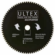 Ultex 302452 Ultex 305mm 80 Tooth TCT Multi-Purpose Blade