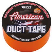 American Duct Tape USDUCTOG5 American Duct Tape 50mm x 5m (Orange)