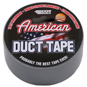 American Duct Tape DUCTSV25 American Duct Tape 50mm x 25mm (Silver)
