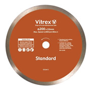 Vitrex 103411 Vitrex Bridge Saw Diamond Blade 200mm