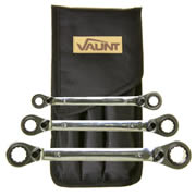 Vaunt 20050 Vaunt 3 Piece Reversible Ratchet Spanner Set
