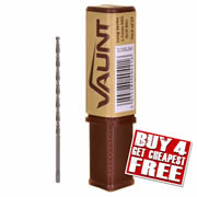 Vaunt 30171 Vaunt 3.5mm HSS Long Series Drill Bits (Pack of 10)