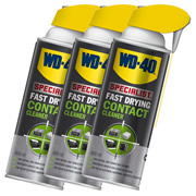WD40 44368PK3 WD-40 High Performance Fast Drying Contact Cleaner 400ml (Pack of 3)