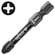 Wera 073956 WERA PH2 50mm Impaktor Diamond Screwdriver Bit