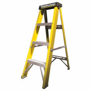 Youngman 527444 Youngman Catwalk S400 4 Tred Step Ladder