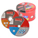 Ultex 302691 Ultex Mixed 115mm Cutting Discs and Maxilife Tin Pack of 25