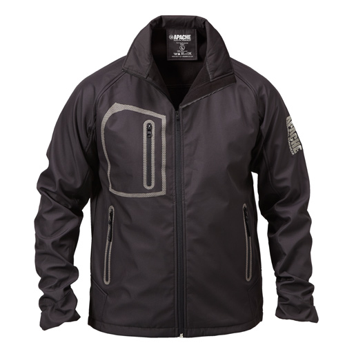 Apache APSSHELL Apache Soft Shell Jacket (Black)