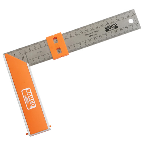 "Bahco 9048-250 Bahco Try Square 250mm (10"")"