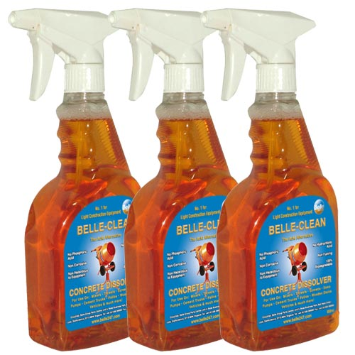 Belle CD00650PK3 Belle Concrete Dissolver 650ml Cleaning Spray (Pack of 3)