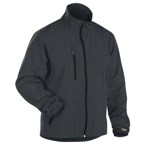 Blaklader 4952 Blaklader Soft Shell Jacket - Grey / Black