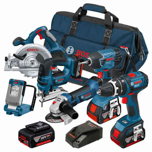 Bosch BAG6DS Bosch 18v Li-ion Dynamic Series 6 Piece Kit