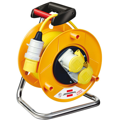 Brennenstuhl 1138873 Brennenstuhl Heavy Duty Cable Reel 50mtr 1.5mm 110 Volt