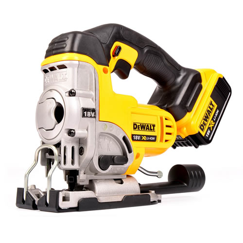 Dewalt DCS331N4 Dewalt 18V Li-ion Jigsaw Body + 1 x 4.0ah Battery