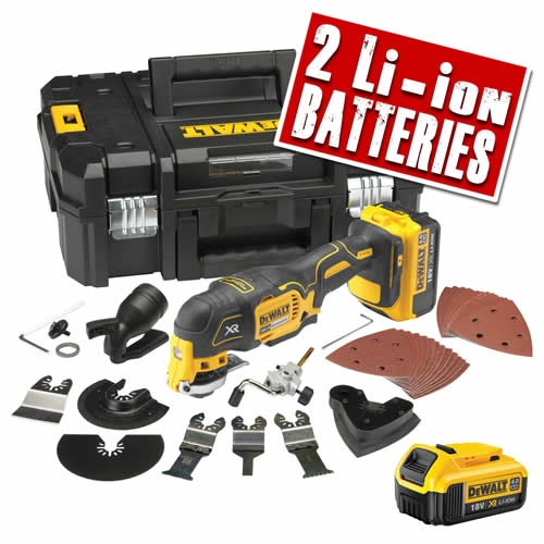 Dewalt DCS355PK Dewalt 18v XR li-ion Brushless Oscillating Multi-Tool