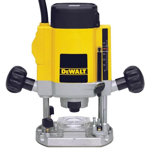 "Dewalt DW615 Dewalt Router (1/4"" Shank) Variable Speed"