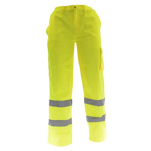 Dickies SA35015 Dickies Hi-Vis Polycotton Trousers