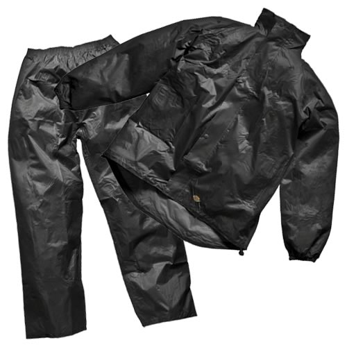Dickies WP10050 Dickies Two Piece Rain Suit (Black)