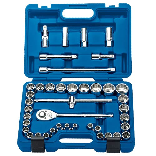 "Draper 24309 Draper 41 Piece 1/2"" Socket Set"