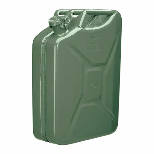 Draper 54442 Draper 20 Litre Steel Fuel Can (Green)