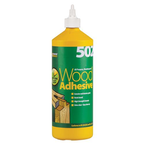 Everbuild WOOD1 Everbuild All Purpose Wood Adhesive (1 Litre)