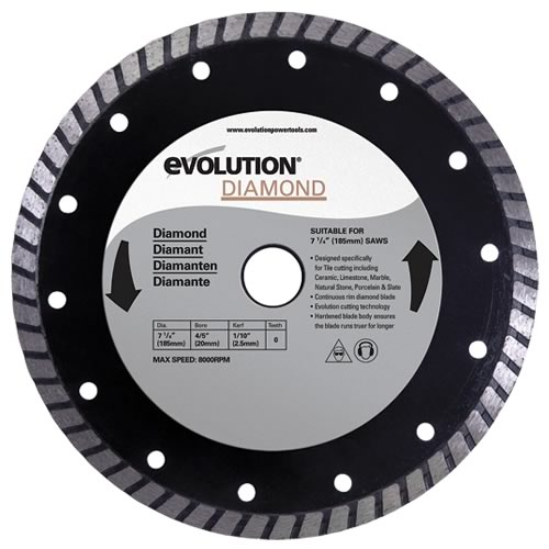 Evolution 185DIA Evolution 185mm Diamond Blade
