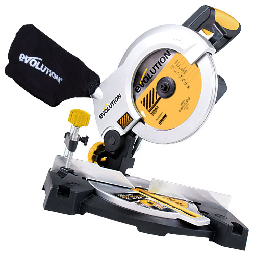 Evolution CRAGE3B Evolution Rage3B 210mm Construction Edition Mitre Saw