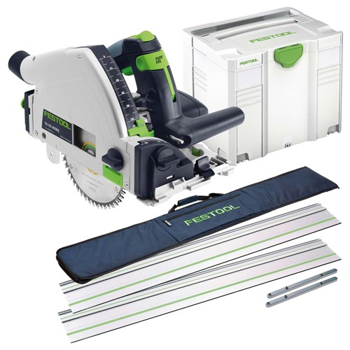 Festool TS55 REBQ PLUS KIT Festool 55mm Circular Plunge Saw Package