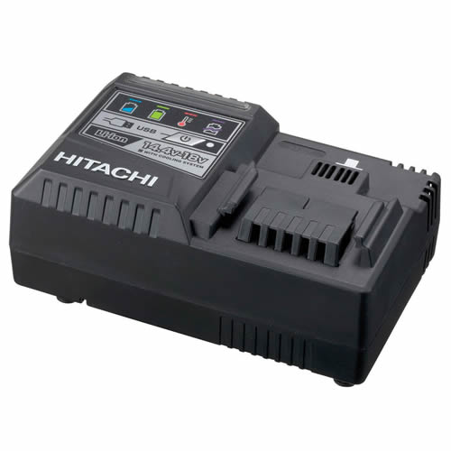 Hitachi UC18YSL3 Hitachi 14.4v - 18v Universal Charger with USB Port