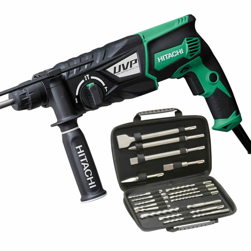 Hitachi DH28PX Hitachi SDS+ Rotary Hammer Drill