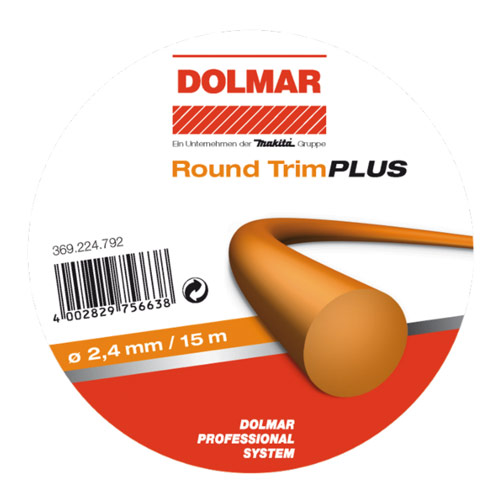 Makita 369224602 Makita Nylon Line Round Trim Plus 2.4mm x 15m