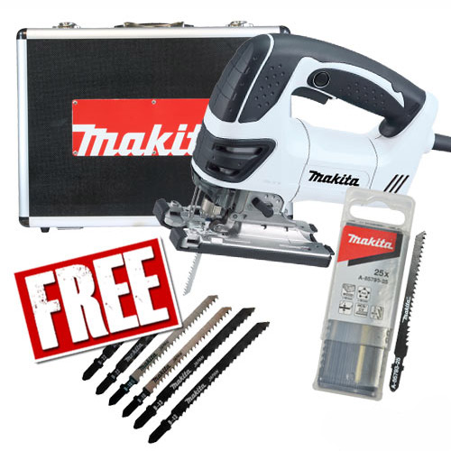Makita 4350CTWXPK1 Makita Orbital Action Jigsaw Special Edition (Black & White) Pack 1