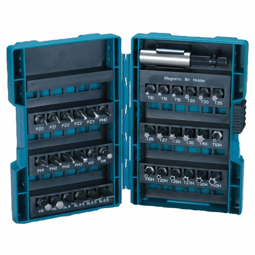 Makita 28606 Makita 37 Piece Mixed Screwdriver Bit Set