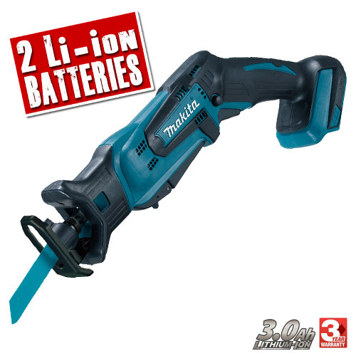 Makita DJR183RFE Makita 18v Li-ion Reciprocating Saw