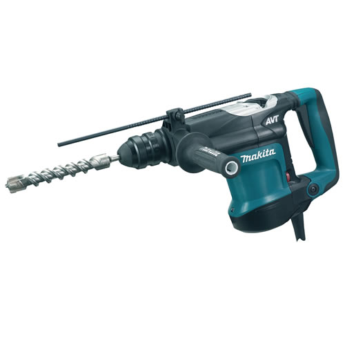 Makita HR3210FCT Makita SDS+ Rotary Hammer Drill with Quick Change Chuck and Adapter
